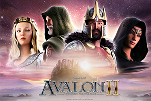 Avalon II The Quest For The Grail Logo