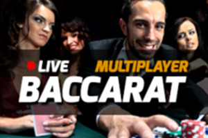 Live Multi Player Baccarat Logo