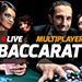 Live Multi Player Baccarat