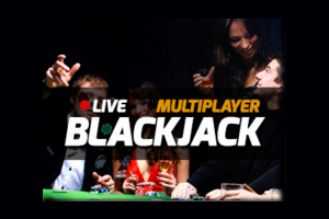 Live Multi Player Blackjack Logo