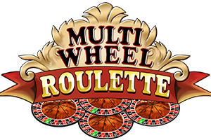 Multi Wheel Roulette Gold Logo