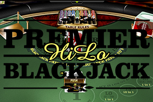 Premier Blackjack Hi Lo Gold Logo