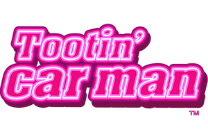 Tootin Car Man Logo