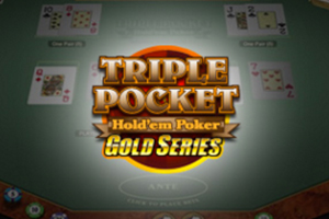 Triple Pocket Hold'em Gold Logo