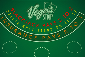 Vegas Strip Blackjack Logo
