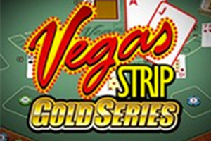 Vegas Strip Blackjack Gold Logo