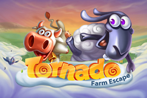 Tornado Farm Escape™ Logo