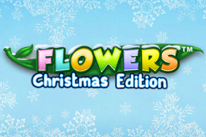 Flowers Christmas Edition Logo